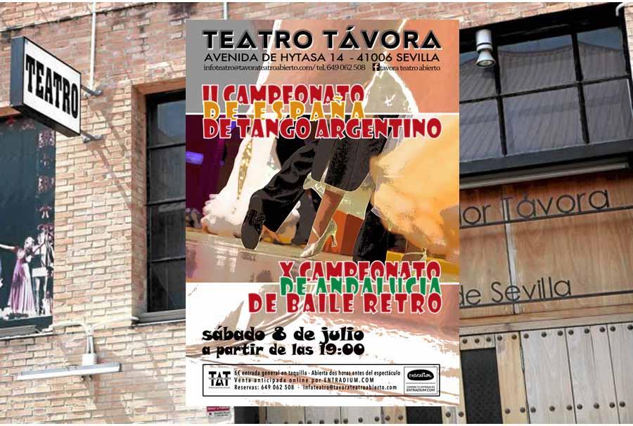 Actualidad Actualidad A la venta en Entradium.com las localidades para las competiciones de Baile Retro y Tango Argentino de Sevilla