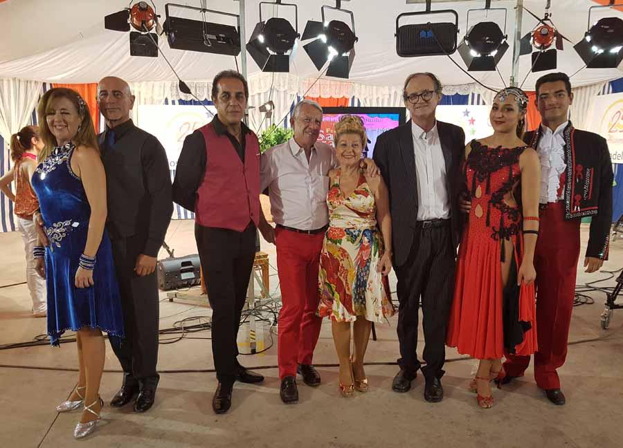 """Actualidad Actualidad Brillante exhibición en el """"Homenaje al Baile Retro"""" del Canal Costa del Sol de Benalmádena"""