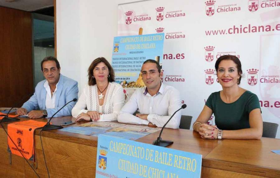 Campeonato en Chiclana Octubre 2017 Información Más de un centenar de bailarines competirán la próxima semana en el Campeonato de Baile Retro Ciudad de Chiclana