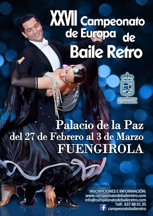 Actualidad Actualidad Sale a la luz el cartel y ya se pueden realizar las inscripciones online del XXVII Campeonato de Europa de Baile Retro