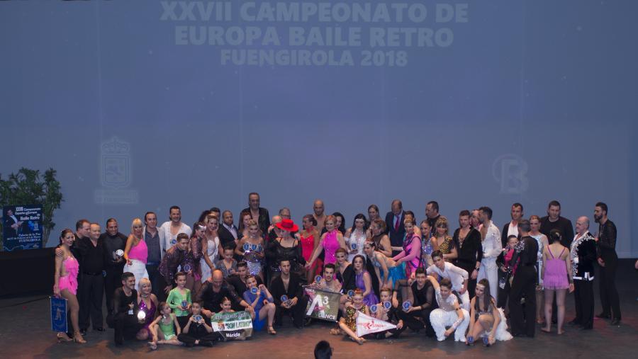 Actualidad Actualidad Las Finales de Europa de Pasodoble, Bachata y Salsa llenaron de ritmos latinos el Palacio de la Paz de Fuengirola