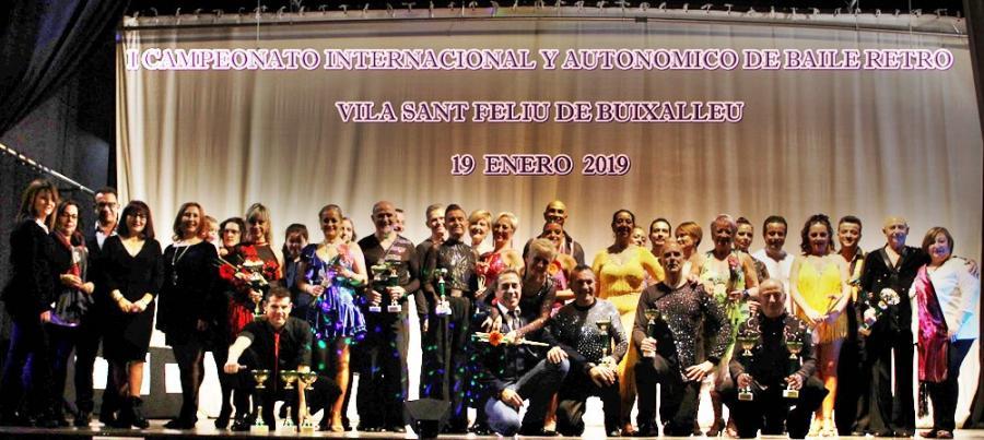 Actualidad Actualidad Cataluña acogió el I Campeonato Internacional y Autonómico de Baile Retro Vila de Sant Feliu de Buixalleu con más de 80 actuaciones