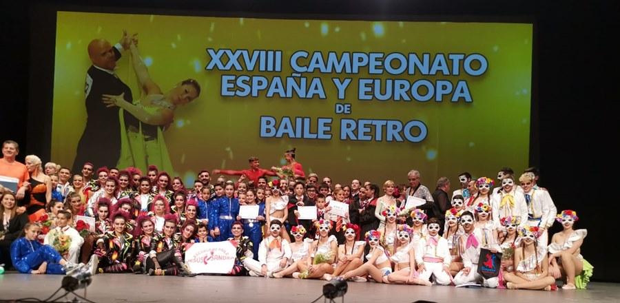 Actualidad Actualidad Espectacular Final de los Campeonatos Combinados de Europa de Retro y de Europa Caribeño y de las Formaciones en el Palacio de la Paz de Fuengirola